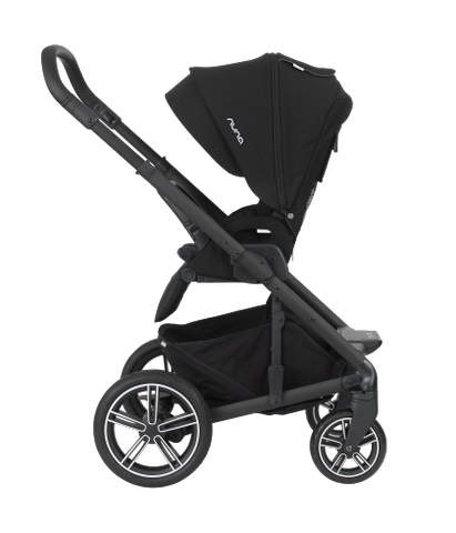 Nuna MIXX2 with Bassinet - Caviar