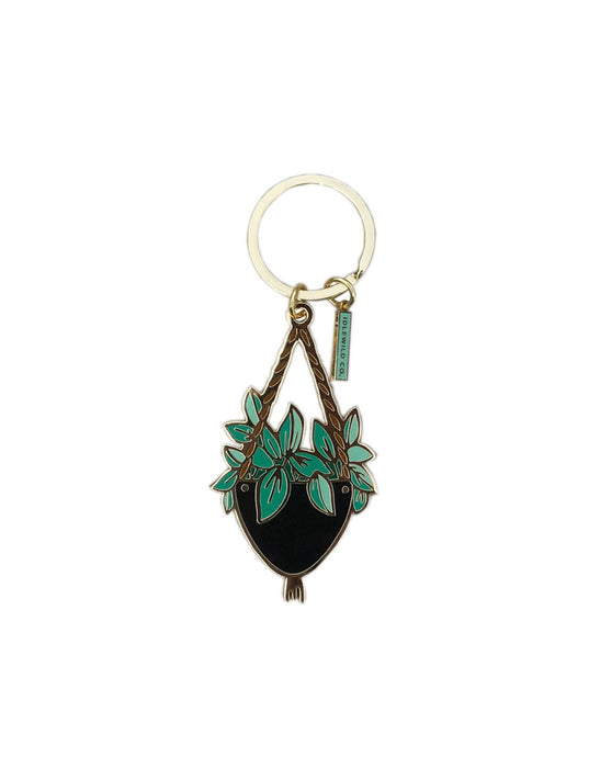 Hanging Plant Keychain - Royal Jungle