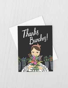 Thanks Bunches Card - Royal Jungle