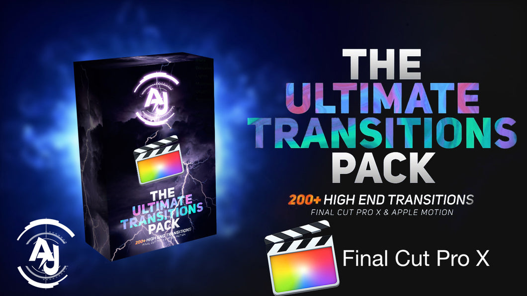 AJ Studio Transitions Pack - Final Cut Pro X & Apple Motion