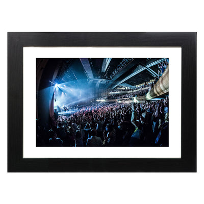DJ Sasha reFracted Barbican 2017 By Dan Reid A3 and A4 Prints (framed or unframed)-lnoearth