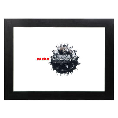 DJ Sasha Air Drawn Dagger Album Cover A3 and A4 Prints (framed or unframed)-lnoearth