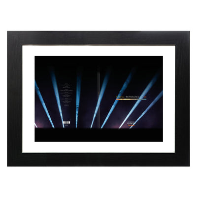 DJ Shasha Refracted Live Album Art A3 and A4 Prints (framed or unframed)-lnoearth