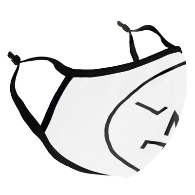 LNOE Circle Logo Black Adult's Face Mask-lnoearth