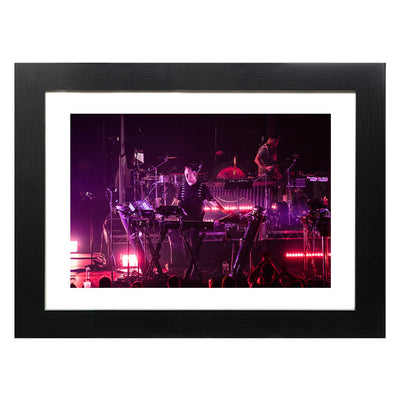 DJ Sasha reFracted Barbican 2017 II By Dan Reid A3 and A4 Prints (framed or unframed)-lnoearth