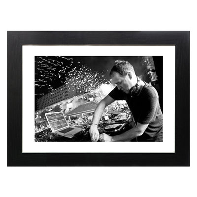 Sasha | Ushuaia | Never Say Never Closing Party 2012 IIII A3 and A4 Prints (framed or unframed)-lnoearth