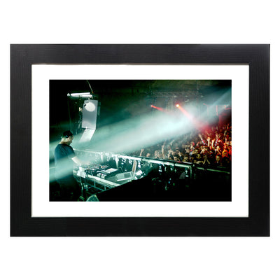 Sasha | Warehouse Project Dec 2010 III A3 and A4 Prints (framed or unframed)-lnoearth