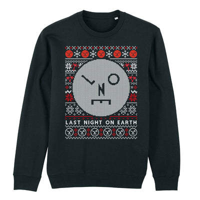LNOE Christmas Knit Pattern Adult's Sweatshirt-lnoearth