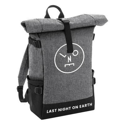 LNOE Circle Logo Roll-top Backpack-lnoearth