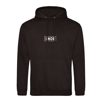 LNOE Adult's Black Hooded Sweatshirt-lnoearth