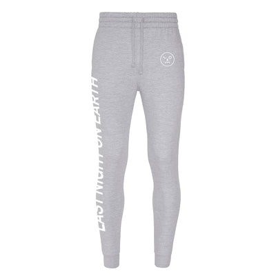 LNOE Men's Heather Grey Tapered Track Pants-lnoearth