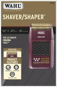 WAHL 5 STAR SHAVER / SHAPER® RECHARGEABLE CORD/CORDLESS BUMP-FREE SHAVING