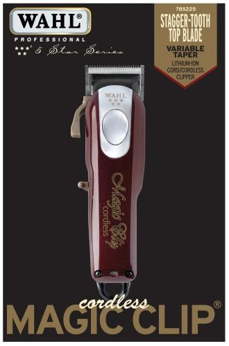 WAHL PROFESSIONAL 5 STAR CORDLESS LITHIUM MAGIC CLIP® CLIPPER