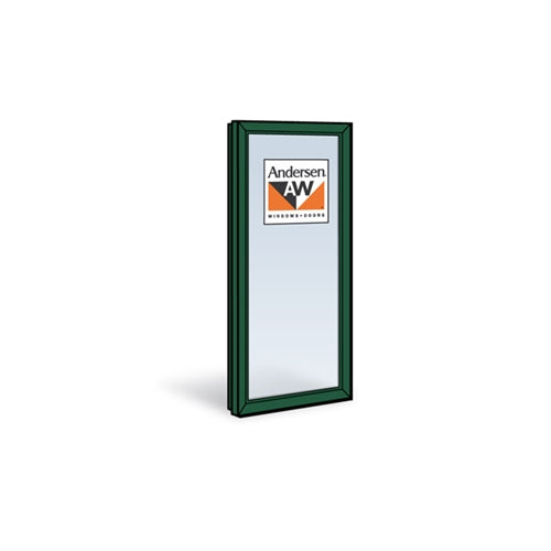 Andersen CXW45 Casement Sash with Low-E4 Glass in Forest Green Color