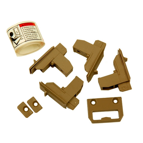 Andersen Tilt Latch Replacement Kit in Stone Color