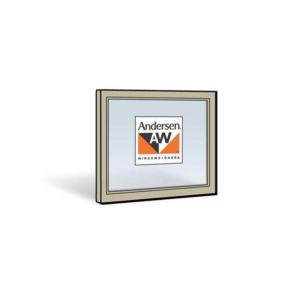Andersen 2432 Upper Sash with Sandtone Exterior and Natural Pine Interior with Low-E4 Glass