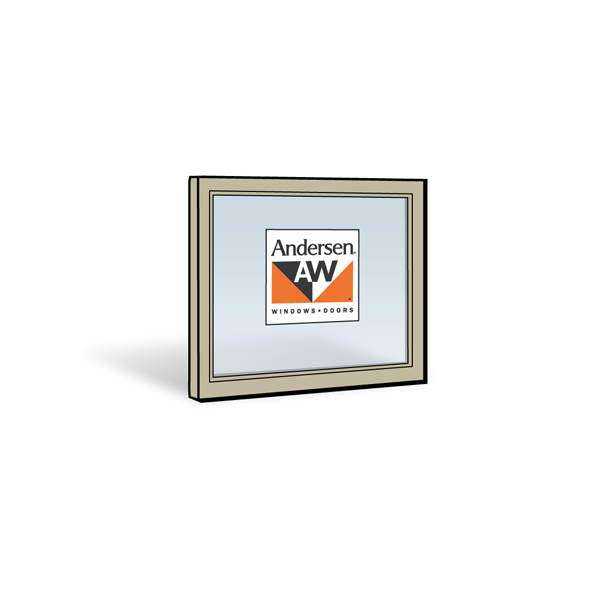 Andersen 2446 Upper Sash with Sandtone Exterior and Natural Pine Interior with Low-E4 Glass