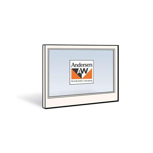 Andersen 3446 Lower Sash with White Exterior and White Interior with Dual-Pane 3/8 Glass