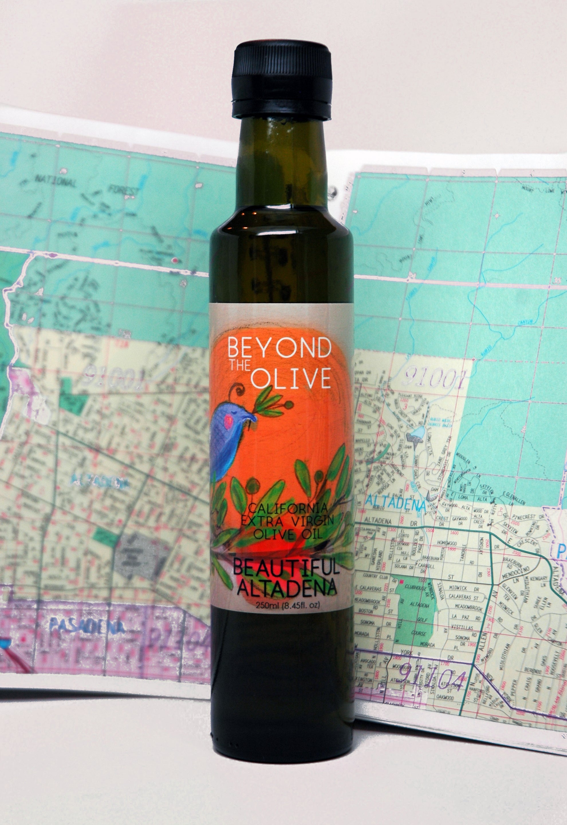 Beautiful Altadena  Extra Virgin Olive Oil Blend