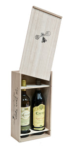 Wine Crate (Empty) for two 750 ml bottles