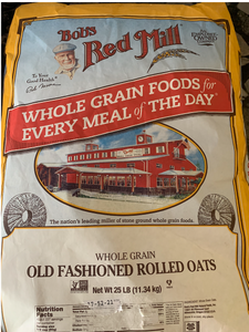 Bob's Red Mill  Old Fashioned Oats (2 or 4 lb)