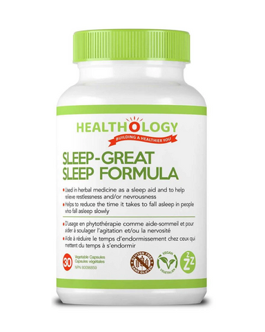 SLEEP-GREAT works by enhancing the body's natural sleep hormone pattern so that you enter all five stages of a healthy sleep, allowing you to wake up feeling refreshed every day.