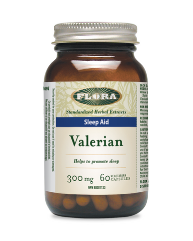 Valerian is traditionally used in herbal medicine as a sleep aid, valued for its calmative and sedative qualities. Flora Valerian is an all-natural, time-tested remedy that brings the extract of this root to you in convenient vegetarian capsules.