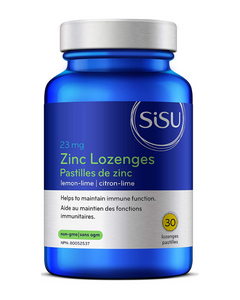SISU Zinc Lozenges provide high-potency zinc in a convenient, great-tasting lozenge that can be taken year-round for better hair, skin and nail health, or as additional support throughout the cold and flu season to boost the immune system and improve our resistance to infection.