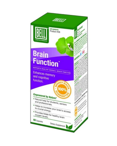 Bell Lifestyle's Brain Function gives you nutrition for brain health today and well into the future. It gives your brain the optimal amounts of key nutrients it needs to run at its best.