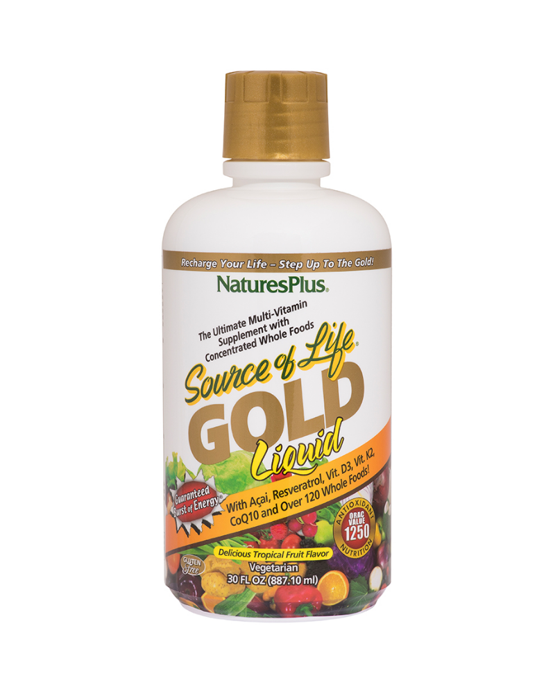 Source of LifeGOLD is now the gold standard for whole food-based multivitamin supplementation. With revolutionary new all-natural ingredients and more Energizing, Antioxidant, and Anti-Aging power than ever before, Source of Life Gold will change your life with an unparalleled Burst of Life and Burst of Health!