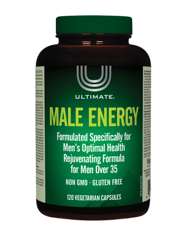 Supplement with Ultimate Male Energy to restore testosterone to optimal levels and reduce excess body fat!