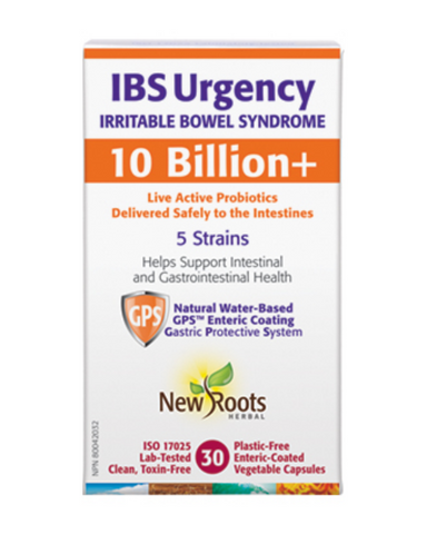 IBS Urgency harnesses the therapeutic potential of five probiotic strains, formulated with premium bovine-sourced colostrum. It could help reduce the duration of diarrhea in those with irritable bowel syndrome.