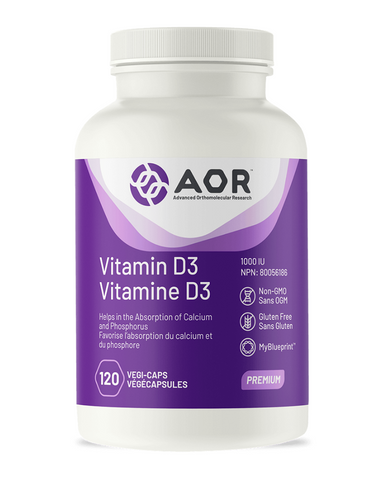 Vitamin D is best known for its role in aiding the absorption of calcium from the digestive system and promoting bone formation, but it has many other actions including balancing immune function and supporting mood. Vitamin D is synthesized by the skin following exposure to ultraviolet rays from sunlight, but many people do not spend enough time outdoors and become deficient in this essential vitamin.