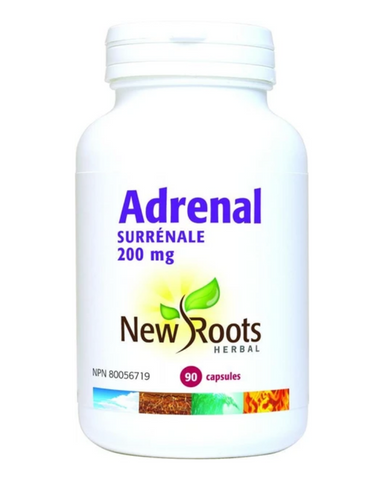 New Roots Herbal's Adrenal concentrate nourishes the adrenal gland with nutrients which help it cope with the challenges of our modern high-stress environment.