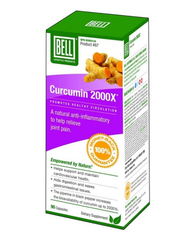 Bell Curcumin 2000X is a natural anti-inflammatory supplement that can be used for many different issues or even if you just want to stay healthy. With its antioxidant, anti-inflammatory, and antimicrobial properties, Curcumin 2000X is a great supplement that you can count on. Cayenne, included in the formula, is traditionally used in herbal medicine to aid digestion