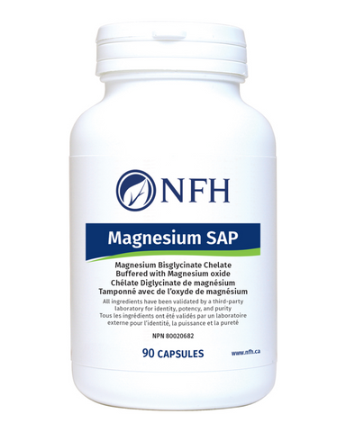 There are many different forms of magnesium, but magnesium bisglycinate found in Magnesium SAP has been demonstrated to be more readily absorbed and utilized by the body versus other ion forms.