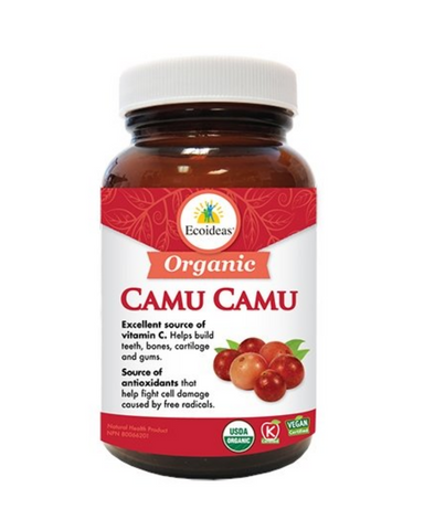 Using the entire fruit provides balanced nutrition and bio-availability. Our Camu Camu is kept raw by gently drying it at low temperatures, preserving and concentrating its very high quantity of vitamin C. Unlike other brands, Ecoideas Camu Camu has no added sugar or maltodextrin. It is 100% pure.