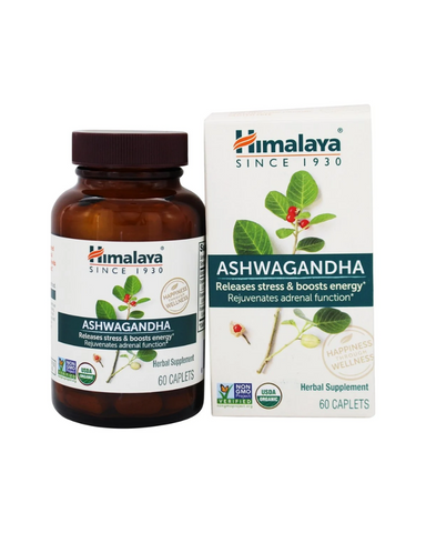 Himalaya Organic Ashwagandha is not just a simple crushed Ashwagandha powder, but an actual clinically-studied extract that provides stress relief by supporting your adrenals and balancing cortisol, so you can help sustain your daily energy levels without caffeine and without feeling jittery.