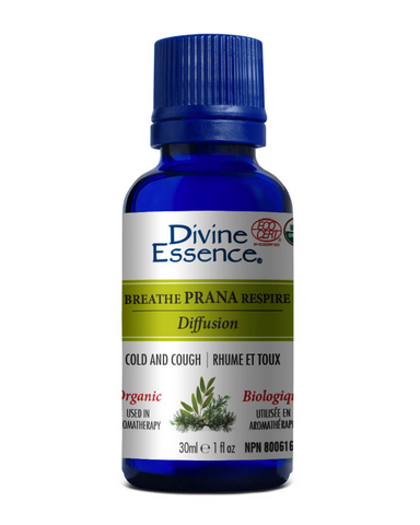 The Breathe Prana essential oils blend is used in aromatherapy to help relieve colds and cough. Add a few drops in a diffuser or in a bath by diluting them with a neutral base. It can also be used for massage therapy when diluted with a carrier oil.