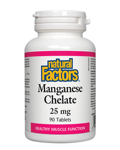Natural Factors Magnesium Chelate 125 mg is chelated to ensure optimal absorption and utilization. Magnesium helps maintain healthy muscle function and good health. It also helps in the development and maintenance of healthy bones and teeth, as well as in metabolizing carbohydrates, proteins, and fat.