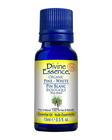 White Pine essential oil has a fresh, resinous fragrance that freshens and purifies the air when diffused.
