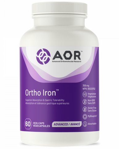 Ortho Iron is a complete formula for the treatment of anemia, which can be caused not only by iron deficiency but also by deficiencies in vitamin B12 or folate. Iron deficiency, which can lead to anemia, is the most common nutritional disorder in the world with approximately 25% of the world's population being iron-deficient. However, even iron-deficiency states that do not lead to anemia may have detrimental effects on human health, including compromised cognitive function, overall weakness and fatigue, an