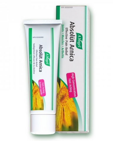 Absolüt Arnica gel is a herbal remedy made from extracts of fresh Arnica flowers and is an easy-to-apply non-greasy gel. It is ideal if you are looking for a treatment to relieve pain and/or inflammation in muscles and joints (e.g. sprains, bruises, joint pain). Provides symptomatic relief of pain associated with osteoarthritis in the knee and hand. It can be used up to 4 times daily.