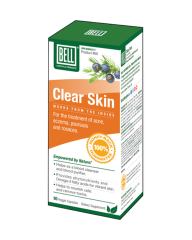 Bell - Clear Skin -Clear Skin is a natural multi-ingredient product. Formulated to promote clear, blemish free skin.
