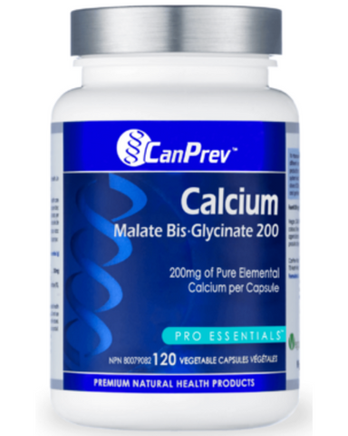 CanPrev's Calcium Bis-Glycinate outperforms when it comes to a uniquely chelated and superior form of calcium that is easy to absorb and gentle on the digestive system. Lower the curtain on chalky tablets and do your body a world of good by getting a therapeutic 200 mg dose of elemental calcium in every vegetable capsule. No fillers, no flavours. When it comes to calcium supplements, CanPrev's Calcium Bis-Glycinate 25 takes centre stage.