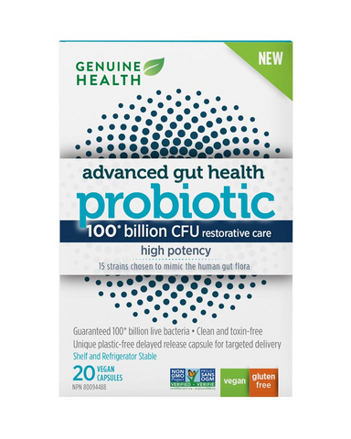 Gut imbalance can happen due to high stress, digestive issues or antibiotic use. Advanced gut health probiotic high potency helps to replenish the gut with good bacteria. A Balanced Formula 100 billion CFU from 15 carefully chosen strains in one convenient capsule per day. Multi-strain balanced formula to help restore a healthy and diverse gut ecology. Highly Controlled Process Temperature and humidity controlled environment. Strains are cleaned to remove toxins and weak cells, for a clean, stable and pure