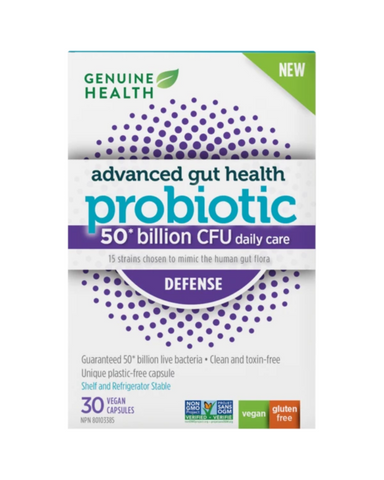 Gut imbalance can happen due to high stress, digestive issues or antibiotic use. Advanced gut health probiotic high potency helps to replenish the gut with good bacteria. Balanced Formula 50 billion CFU is made from 15 carefully chosen strains for optimal immune and digestive function, including clinically researched strains: Rhamnosus GG, shown to reduce incidence of acute infections and provide overall immune support and Plantarum HEAL9 & Paracasei 8700:2, researched in combination to enhance the body's i