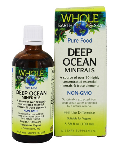 Deep Ocean Minerals is sustainably extracted from deep ocean water protected by a nature reserve. Deep Ocean Minerals contains over 70 essential minerals and trace elements, including magnesium, which catalyzes over 300 enzyme and hormone reactions. These macrominerals and trace elements give structure to our organs, tissues, and bones, and help maintain fluid balance, pH balance, and membrane permeability.