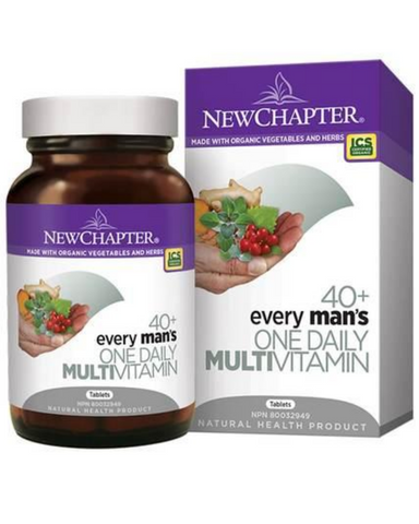 Every Man's One Daily 40+ delivers 23 fermented vitamins and minerals including B Vitamins, Selenium, and Vitamin D3. This targeted multi-vitamin also provides medicinal herbs for men such as Saw Palmetto, Pumpkin Seed, and Nettle root.