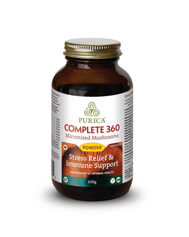 PURICA® Complete 360 will help you manage stress, while improving your immunity, sleep and brainpower. It's the perfect formulation for a balanced lifestyle and optimized health.